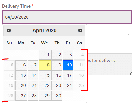 WooCommerce Delivery Time Slots - Admin Settings
