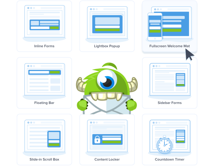 OptinMonster Features