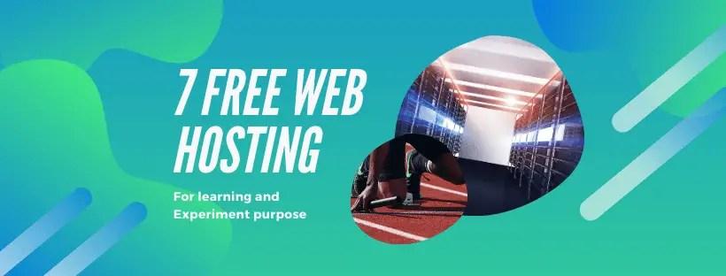 best 7 Free hosting site