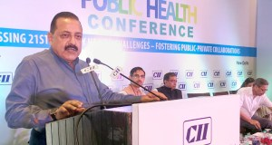 Singh addressing the CII Public Health Conference, in New Delhi on August 22, 2017.