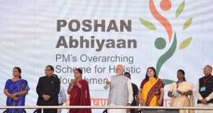 On his recent trip to Rajasthan- Prime Minister, Narendra Modi seen  launching the National Nutrition Mission, at a function, in Jhunjhunu, Rajasthan on March 08, 2018. (File Picture)