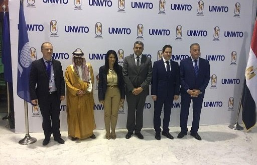 Tourism Ministers at The 44th meeting of the UNWTO Regional Commission for the Middle East, organized by the World Tourism Organization (UNWTO) and the Ministry of Tourism of the Arab Republic of Egypt (Sharm el Sheikh, 8-9 May 2018). The next meeting will be in Egypt.