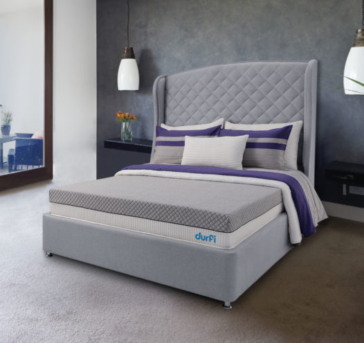 Beat the heat with Durfi's Cotton Candy memory foam mattress