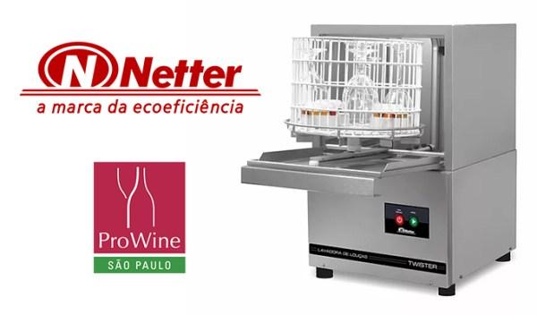 ProWine apresenta tecnologia da Netter para desinfecção de taças e louças durante a feira garantindo segurança aos visitantes