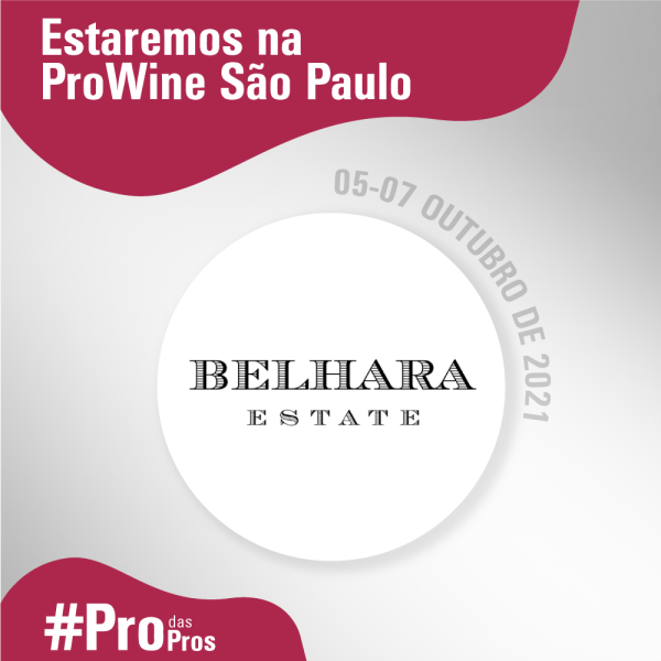 Vinícola argentina Belhara Estate virá para a ProWine São Paulo divulgar seus produtos