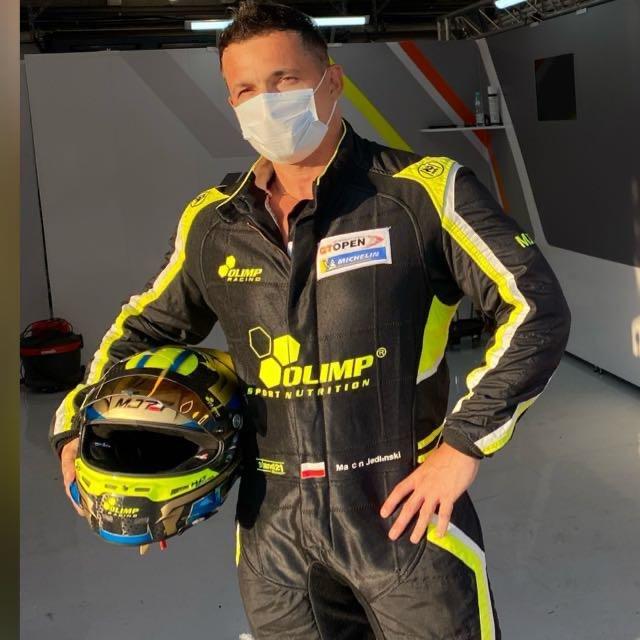 Marcin Jedliński, zawodnik Olimp Racing