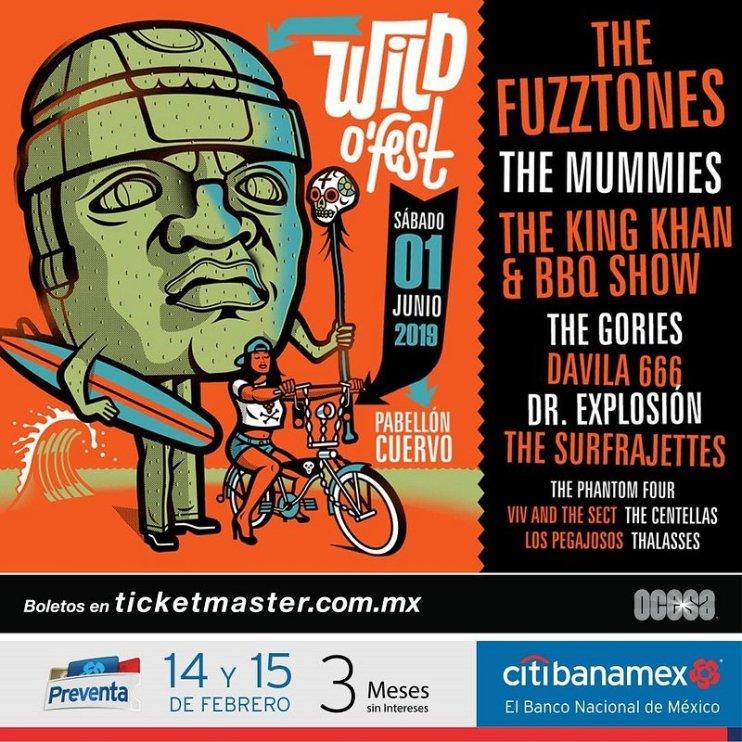 Llega la cuarta edición del festival más importante de surf y garage de México y Latinoamérica: Wild O'Fest