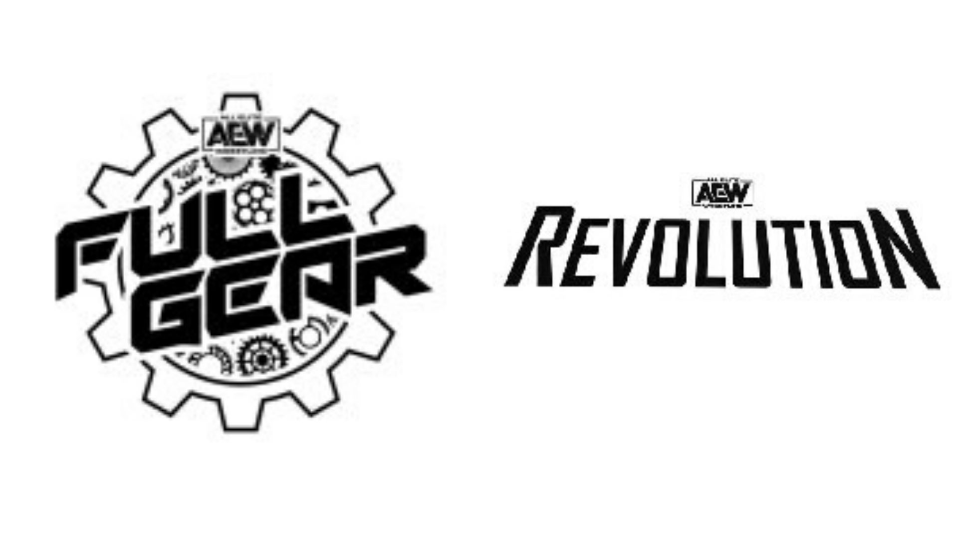 AEW Trademarks AEW Revolution, Plus Full Gear Logo