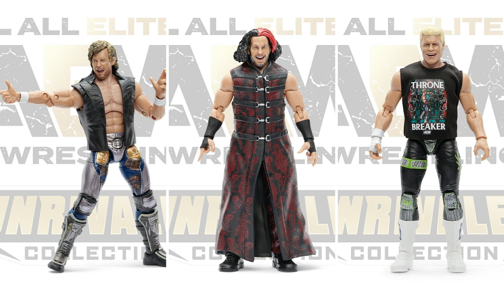 Aew S Unrivaled Series 4 Action Figures Revealed Launch Mid 2021