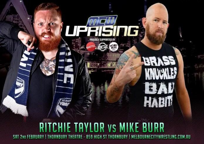 Melbourne City Wrestling Presents Uprising