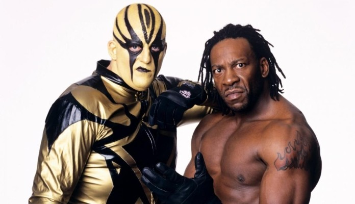 Goldust and Booker T