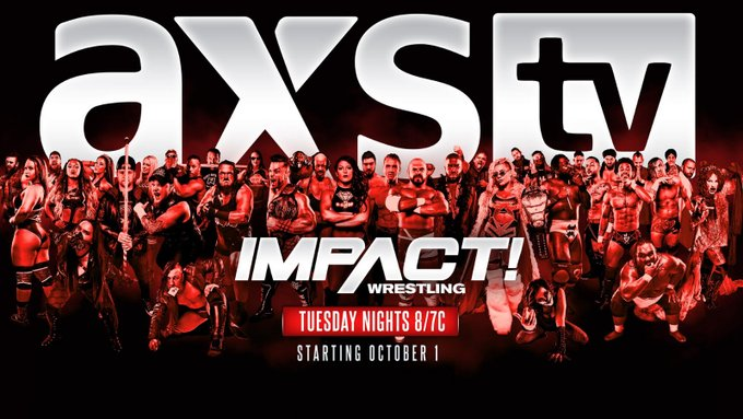 #NEWS: Impact Wrestling To Air On AXS Next Month