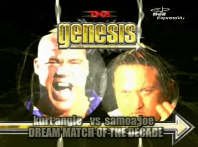 Kurt Angle & Samoa Joe
