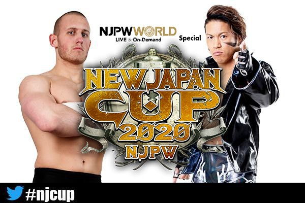 New Japan Cup 2020 Left