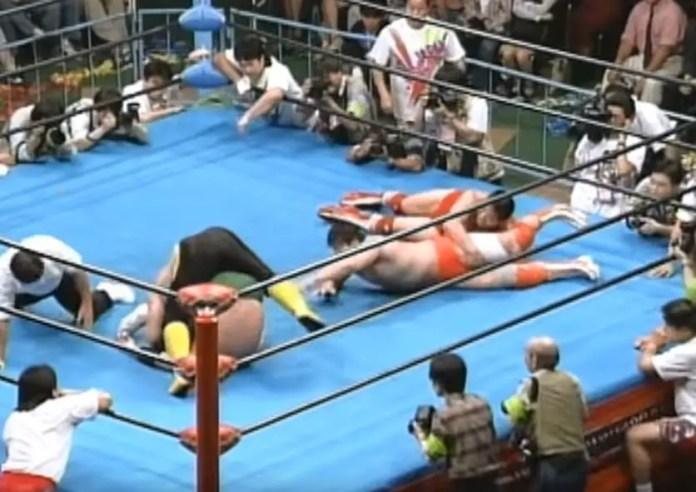 Misawa & Kobashi vs Kawada