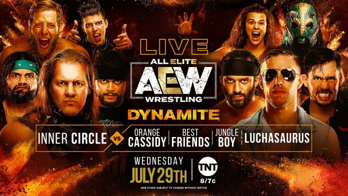 AEW Dynamite IGNITE for 7/29/20