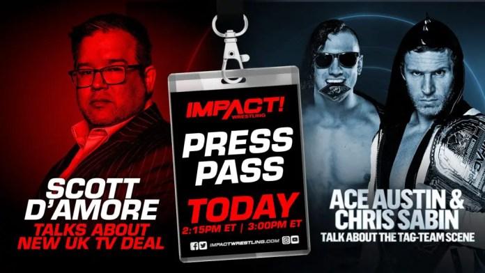 Chris Sabin and Ace Austin