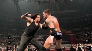 The Undertaker vs Randy Orton