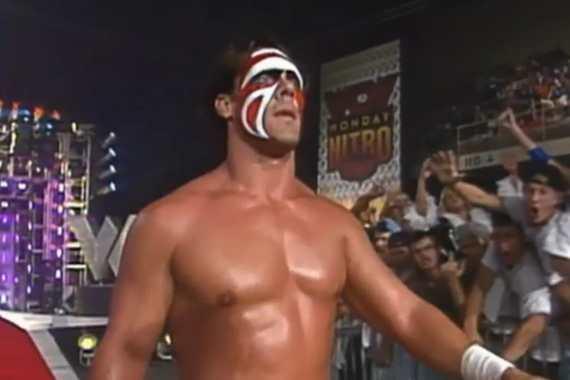 Sting on WCW Nitro, September 16, 1996.