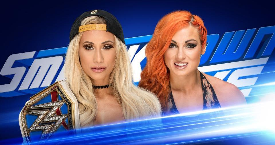 WWE SmackDown Live Results (7/24)