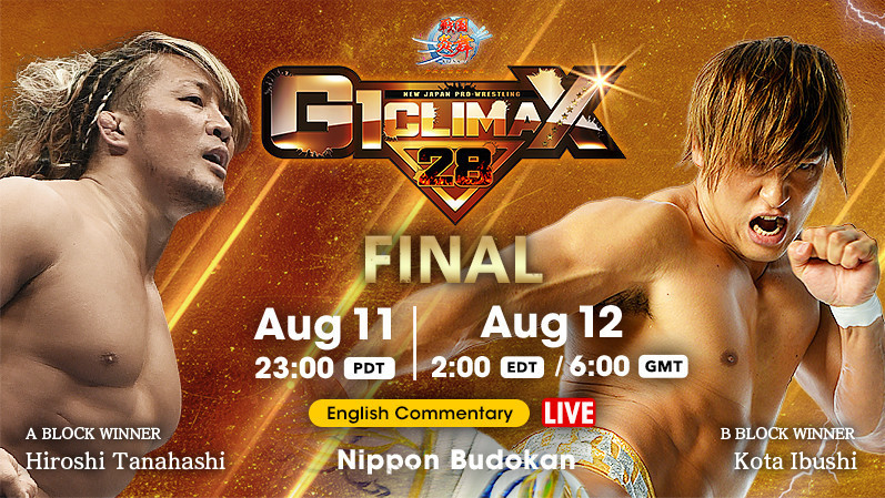 NJPW G1 Climax 28 Finals Results
