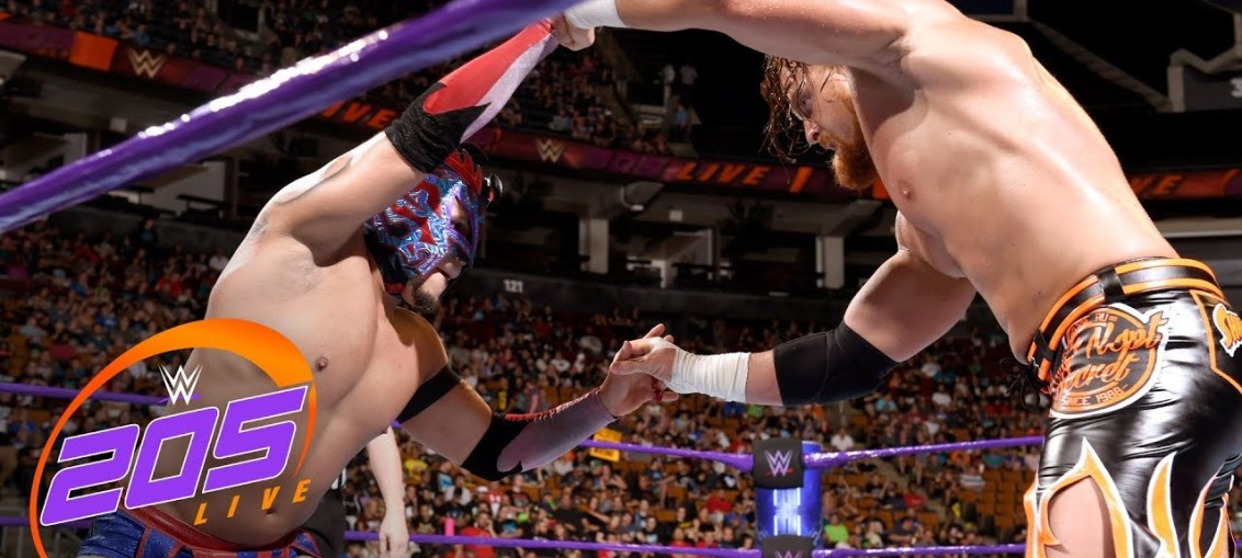 WWE 205 Live Results (8/28)