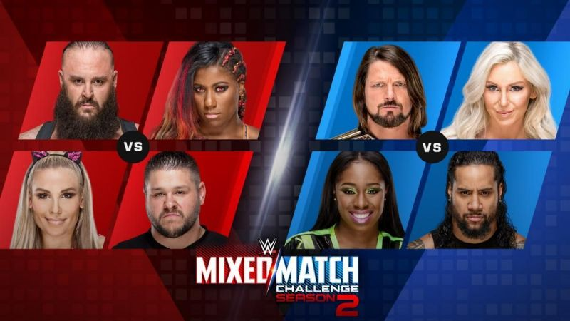 WWE Mixed Match Challenge Results - September 18, 2018