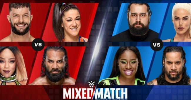 WWE Mixed Match Challenge Results - October 2, 2018