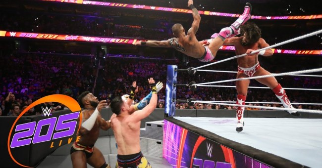 WWE 205 Live Results (10/17)