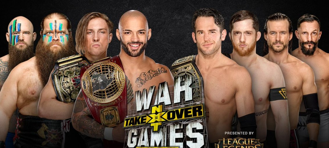 WWE NXT TakeOver: WarGames II Results