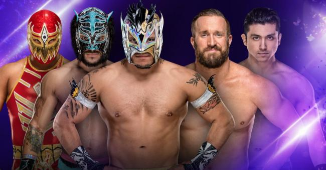WWE 205 Live Results (12/5)