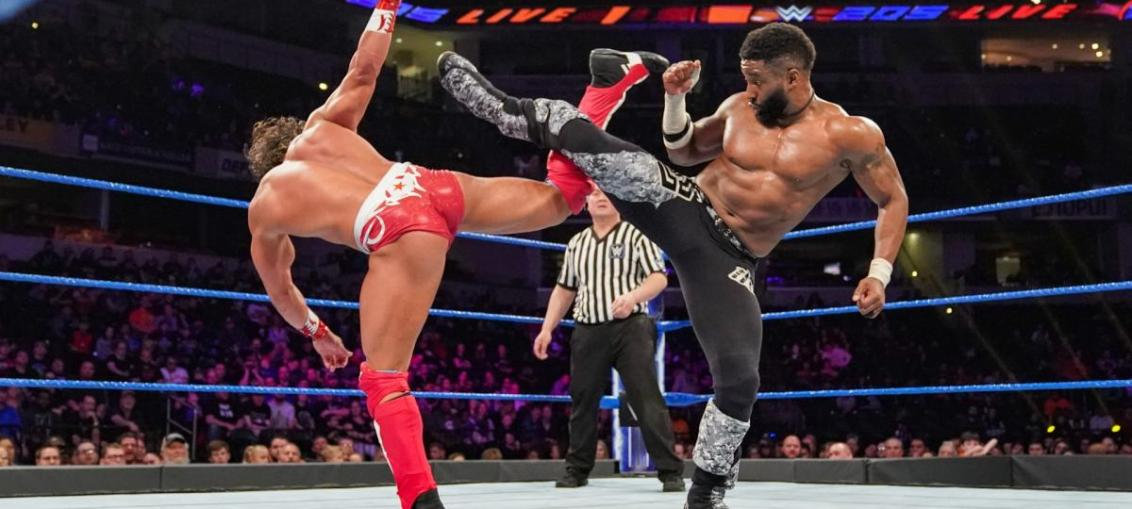 WWE 205 Live Results (3/19/19)
