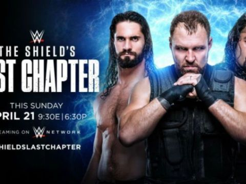 WWE The Shield's Final Chapter Results