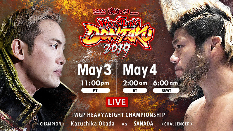 NJPW Wrestling Dontaku 2019 Results