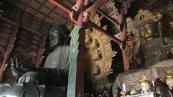 El Buda de madera en el templo Todai-ji, Nara.