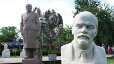 Esculturas de Lenin