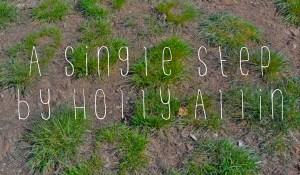 A Single Step, by Holly Allin
