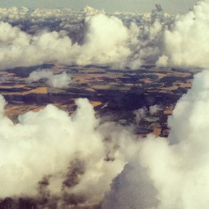 clouds from sky
