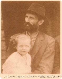 Loddick and Grandma.