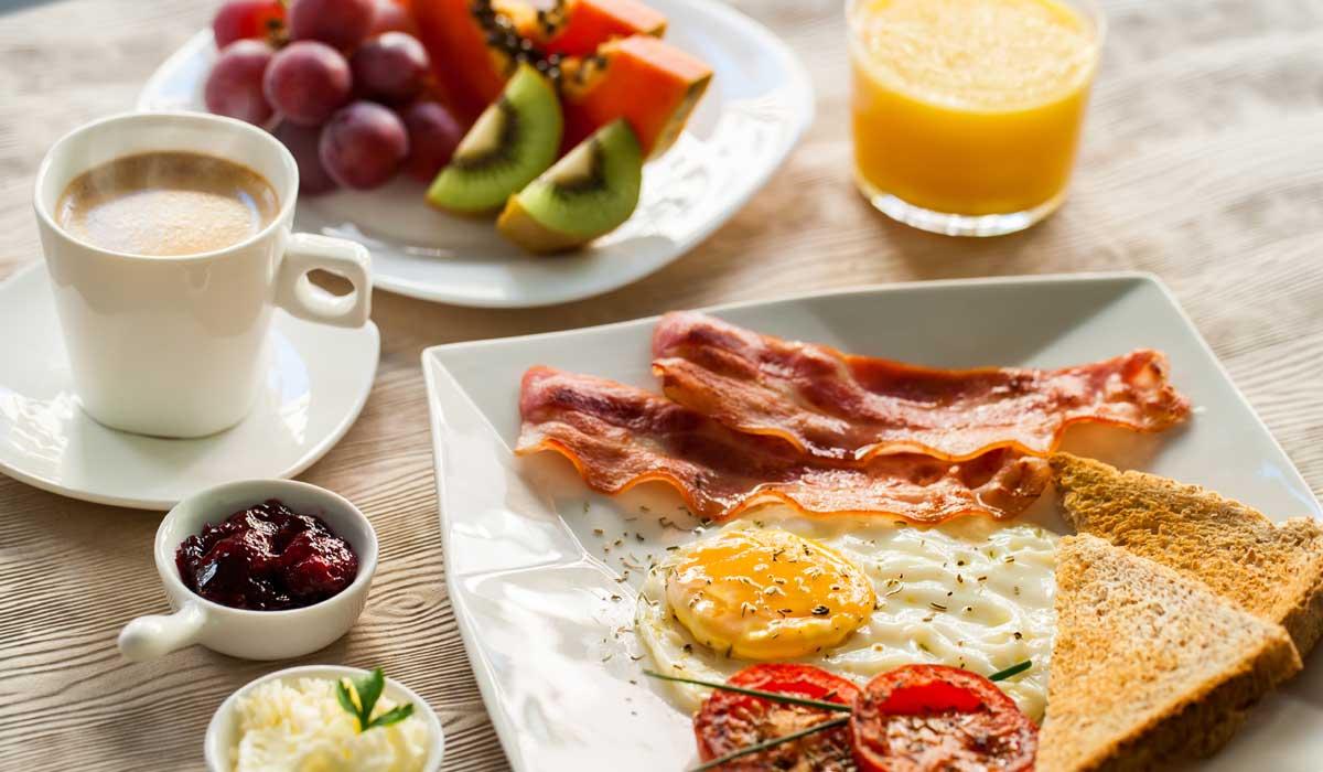 Solo Desayuno Americano En Ingles