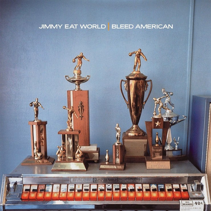 Bleed American by Jimmy Eat World, 2001, photography by William Eggleston.