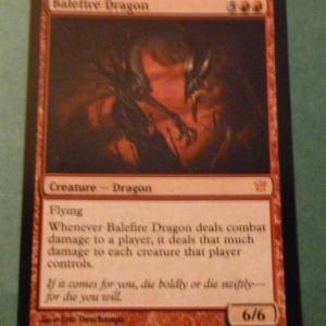 Balefire Dragon  black core