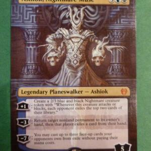 Ashiok, Nightmare Muse Full Art Holo black core