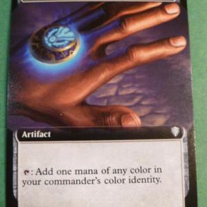 Arcane Signet Extend Art Holo black core