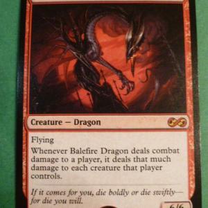 Balefire Dragon UMA Holo Holo black core