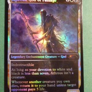 Athreos, God of Passage SLD foil black core