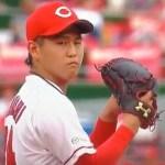 高橋昂也 怪我 左肘 手術 復帰 いつ 成績 年俸 カープ 広島