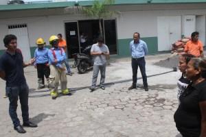 Ocurrió sismo cuando realizaban simulacro, en Paso del Macho