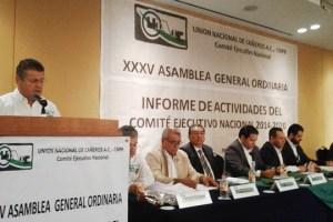 Preside Carlos Blackaller la XXXV Asamblea General Ordinaria de la UNC-CNPR