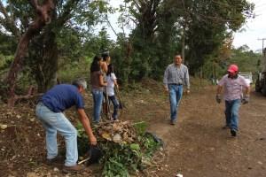 Todo un éxito la jornada de limpieza en Rancho Calzada